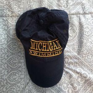 Anvil Michigan Swimming Baseball cap